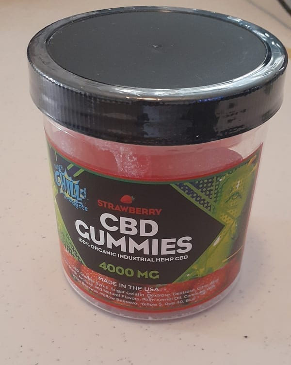 SuperChill High Dosage CBD Gummies