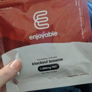 Blackout Brownie Enjoyable Edibles